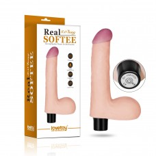 Real Softee Vibrating Dildo